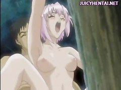 Hentai chick doing blowjob and gets facial  Go to to enjoy more juicy hentai videos