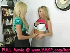 big tits lesbian girl on high heels bigtits