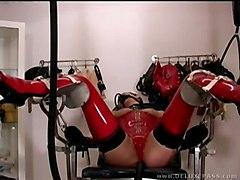 BDSM Femdom Lesbians Latex
