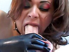 anal stockings fucking brunette lingerie latex fetish heels corset gloves pvc
