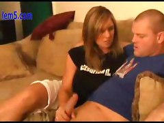 Girlfriend War HandJob