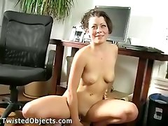 insertion fingering dildo objects huge wife