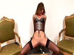 olivia roche anal stockings lingerie toys threesome blowjob ass pussy gaping facial