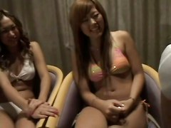 Brunettes Flashing Masturbation