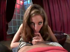 blowjob handjob sex stockings POV