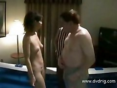 oiled milf shaved threesome pussylicking smalltits pussyfucking facesitting wrestle