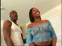 ebony sex hardcore big dick blowjob big boobs