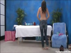 massage oil fucking toys ass reality brunette