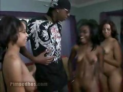 Ebony Pimped Black Whores Group Threesome Sexy Pussy Titties Slowly Slut Amateur Naked Hardcore Blowjob