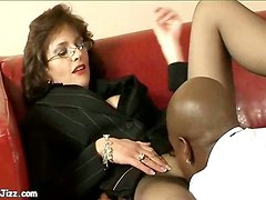 mature bitch black dick tongue huge pole