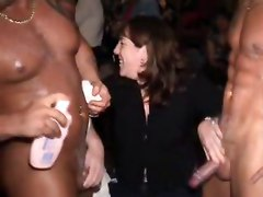 Flashing Group Sex Masturbation