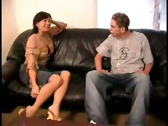 cum milf dp sex threesome blowjob