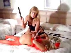 lesbian bdsm domination spanking milf