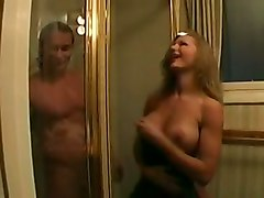 amber michaels blond big ass shower blowj big tits