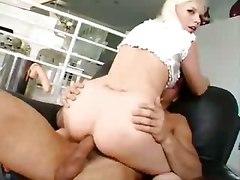 anal ass licking dildo blonde ass