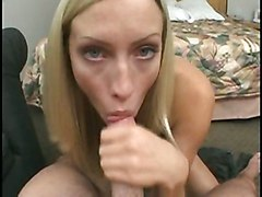 cumshot hardcore blonde pornstar young swallow high heels bigtits longhair pussytomouth POV cocksucking cuminmouth pussy fucking bendover longnails doggy style bouncingtits cockstroking
