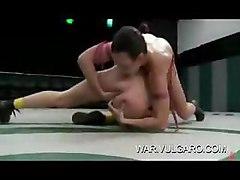 Naked Lesbian Pussy Wrestling
