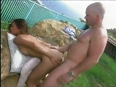 brunette hard dick asian titty sex