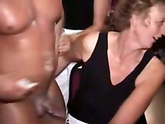 drunk party voyeur reality brunette blowjob rubbing teasing