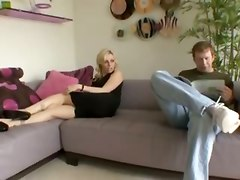 Adrianna Nicole Sodomized In Front Of Her Boyfriend