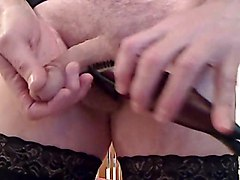 solo stockings amateur homemade shaving