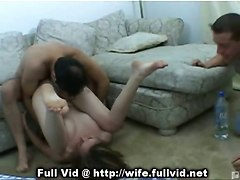 housewife pussy oral voyeur brunette reality straight hardcore amateur
