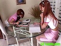 Teen Redhead LesbianTeens 18  Lesbian Petite Redhead
