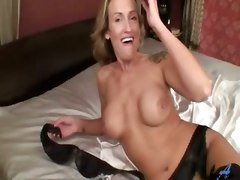 milf mom masturbation solo tattoo dildo