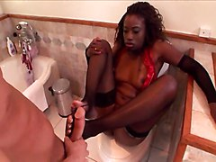 Monique Bathroom Oral