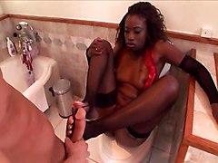 Monique Bathroom Oral