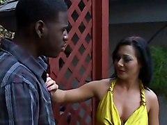 Sandra RomainAnal Interracial Porn Stars