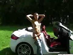 amateur homemade tight girlfriend couple brunette teasing wet outdoor public striptease panties tattoo stockings rubbing masturbation close up piercing pussy ass fetish toys