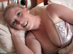 Tit Jerk Instruction MilfSolo Softcore Other Fetish Blonde
