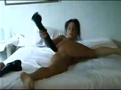 dildo ass brunette tattoo dildos insertion extreme brutal galak
