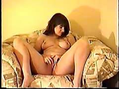 Masturbation Home Chubby Sexysex ToydildobrunetteBBWAmateur Solo Home made Toys