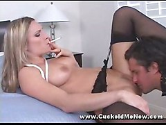 stockings hardcore ass blowjob asslicking pussyfucking fetish mistress femdom worship cuckold sissy
