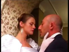 stockings cumshot facial blowjob tattoo threesome dp hairypussy pussyfucking shemale bride transvestite