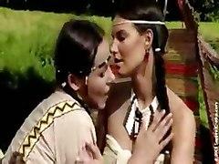 lesbian girl on girl outdoors pussy licking fingering