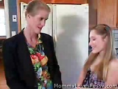 hot mature mom and young teen girl