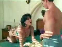 pornstar teasing brunette classic mature reality kissing wet lingerie panties fingering close up pussy face fuck pussylicking tight hardcore doggystyle vintage