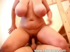 big tits blonde bbw panties glasses teasing blowjob handjob tittyfuck riding doggystyle chubby fat mature