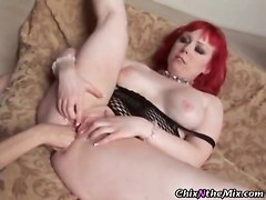 pussy eating lesbian boots