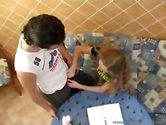 Russian Student Fucked While Studying ( Amateur Sluts Teen Young Babe Teens)