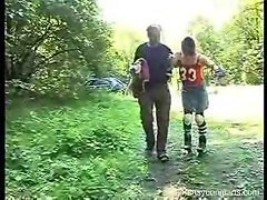 Dirty Old Man Fucks Young Lady Skater