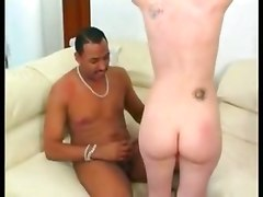 threesome interracial double penetration anal petite