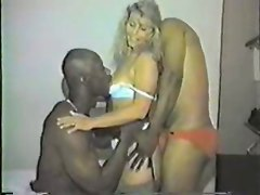 Interracial MILFs Stockings
