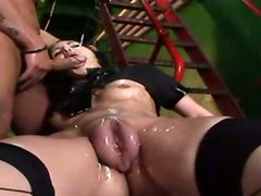Pussy Pumping Vacuum Rough Stockings Anal Oiled Skull Deepthroat DildoAnal Other Fetish Extreme Bizarre