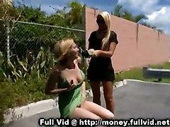 dildo pussy hardcore blonde toys outdoors machine reality straight