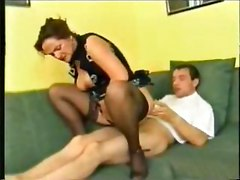 german mom seduced son for hard sex