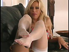 Playtime Pantyhose Stockings Tease Solo Masturbation StripSolo Mature Softcore Other Fetish